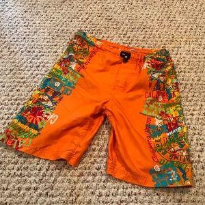 Wave zone boys size 8 swim trunks suit